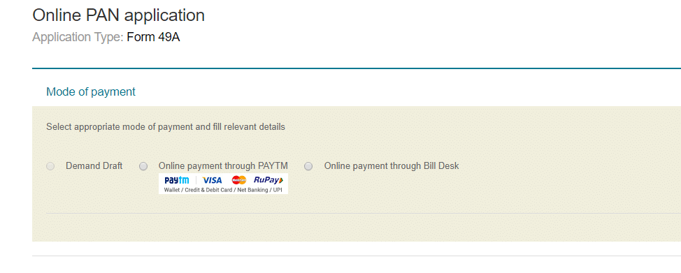 Online Amount Payment