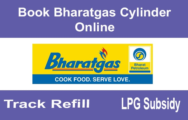 Book Bharatgas Cylinder Online,