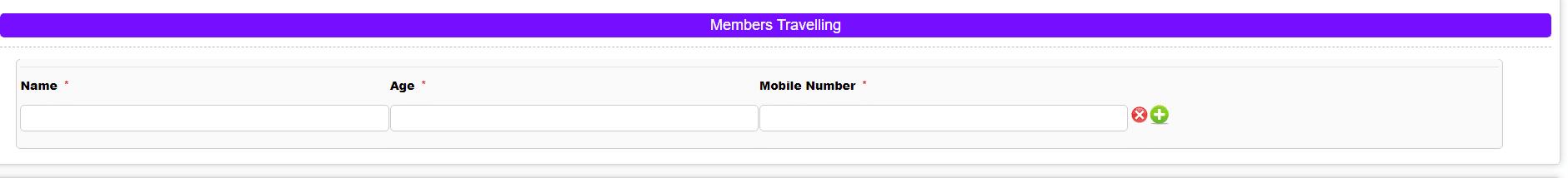 Members Travelling