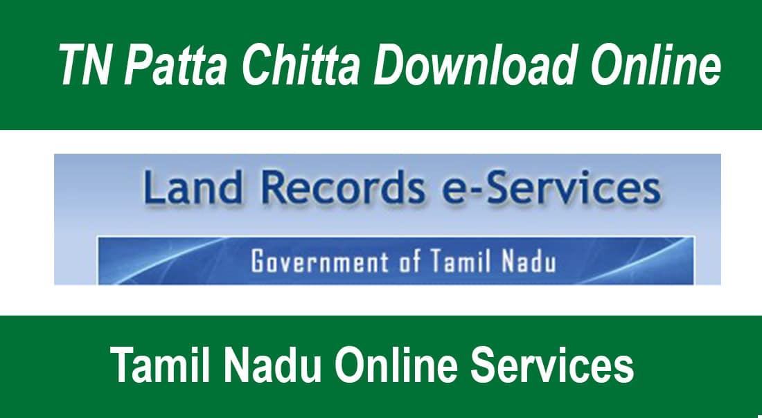 TN Patta Chitta Download Online - Tamil Nadu Online Services